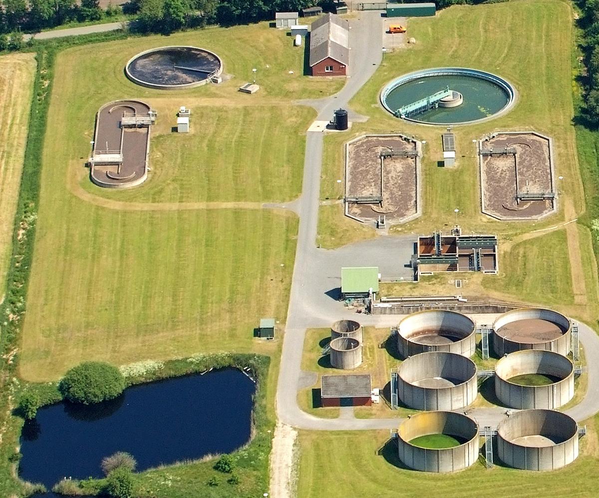 Tratamiento de aguas residuales en Alemania. Foto: Martina Nolte.