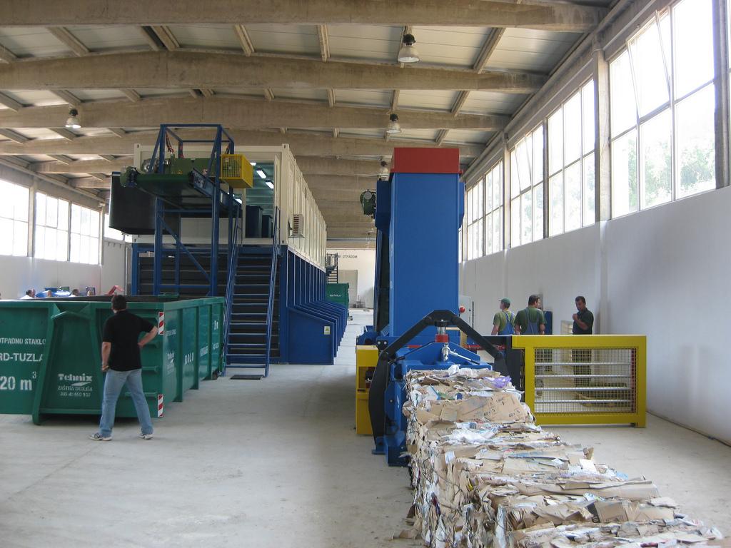 Planta de reciclaje de residuos. Foto: Banco Mundial