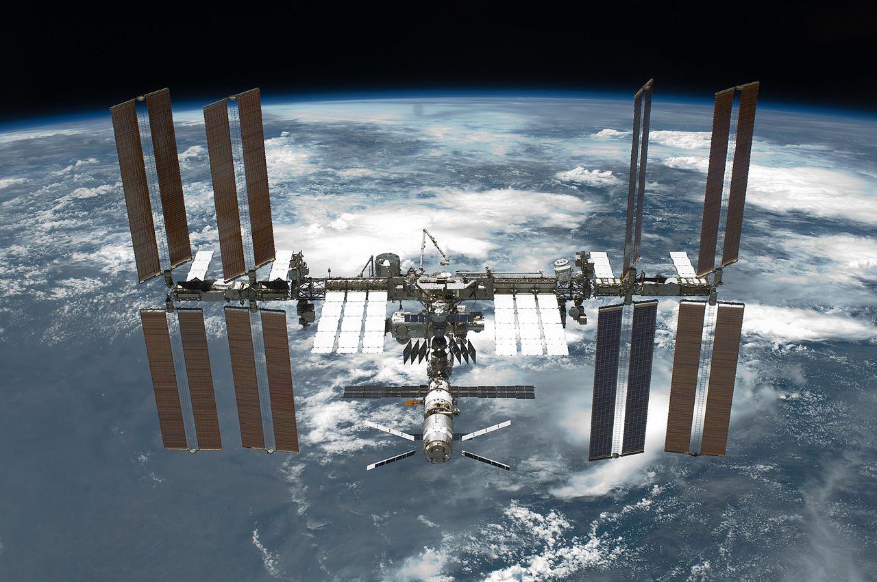 La Estación Espacial Internacional donde se han congelado los espermatozoides. Foto: NASA