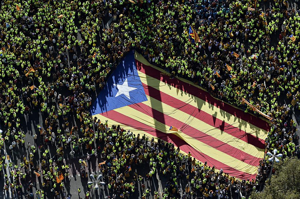 La Diada del pasado 11 de septiembre. Foto: Assemblea.cat