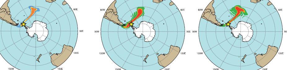 Mapa de las simulaciones. Fuente: BSC