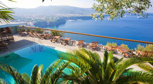 Hotel Megamare, en Sorrento. Fuente: www.megamare.com/en.