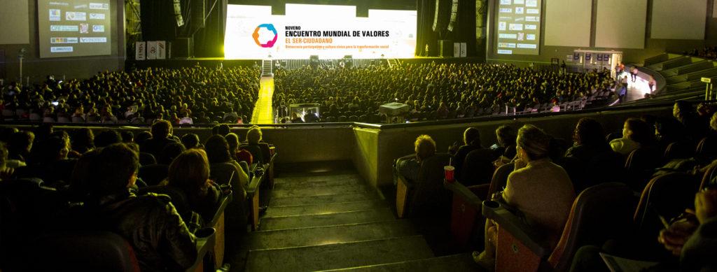 Panorámica del Encuentro Mundial de Valores 2017. Foto: EMV.