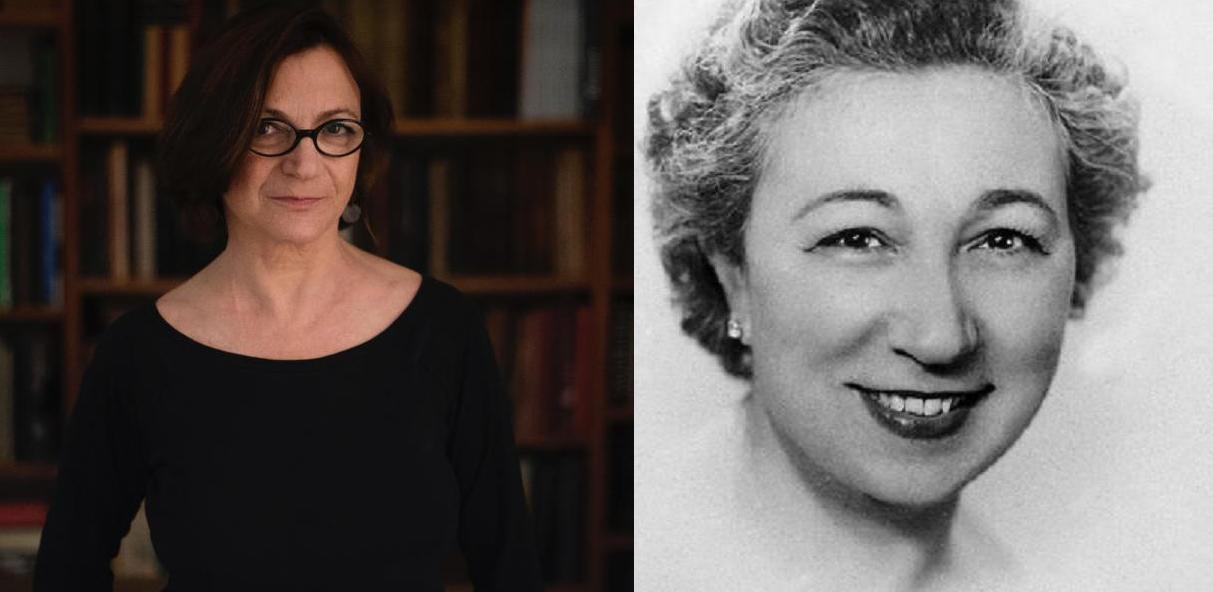 Esther Zarraluki y Ángela Figuera Aymerich, nuevas autoras de la Colección Genialogías. Fuente: Asociación Genialogías.