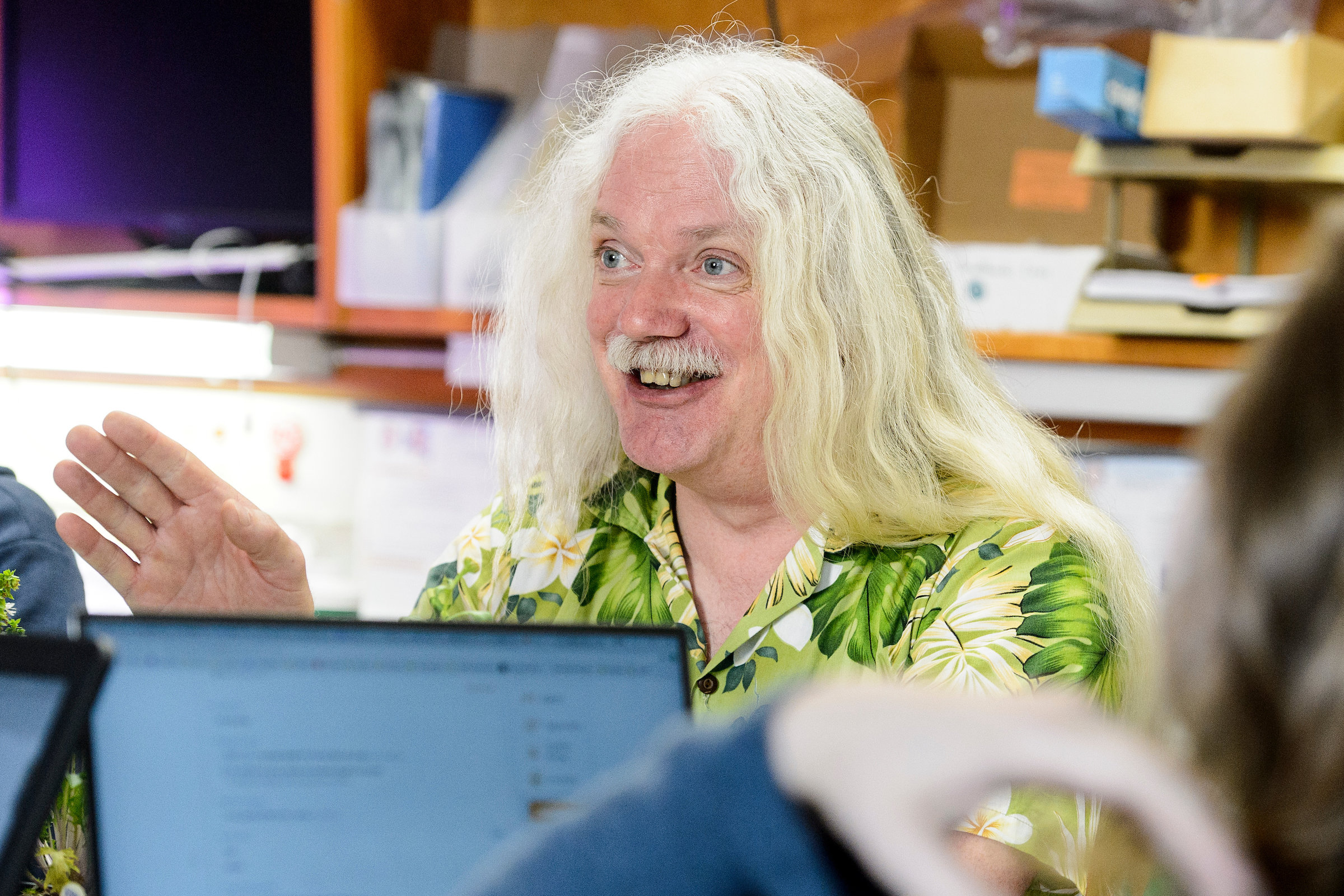 Simon Gilroy. Foto: University of Wisconsin.