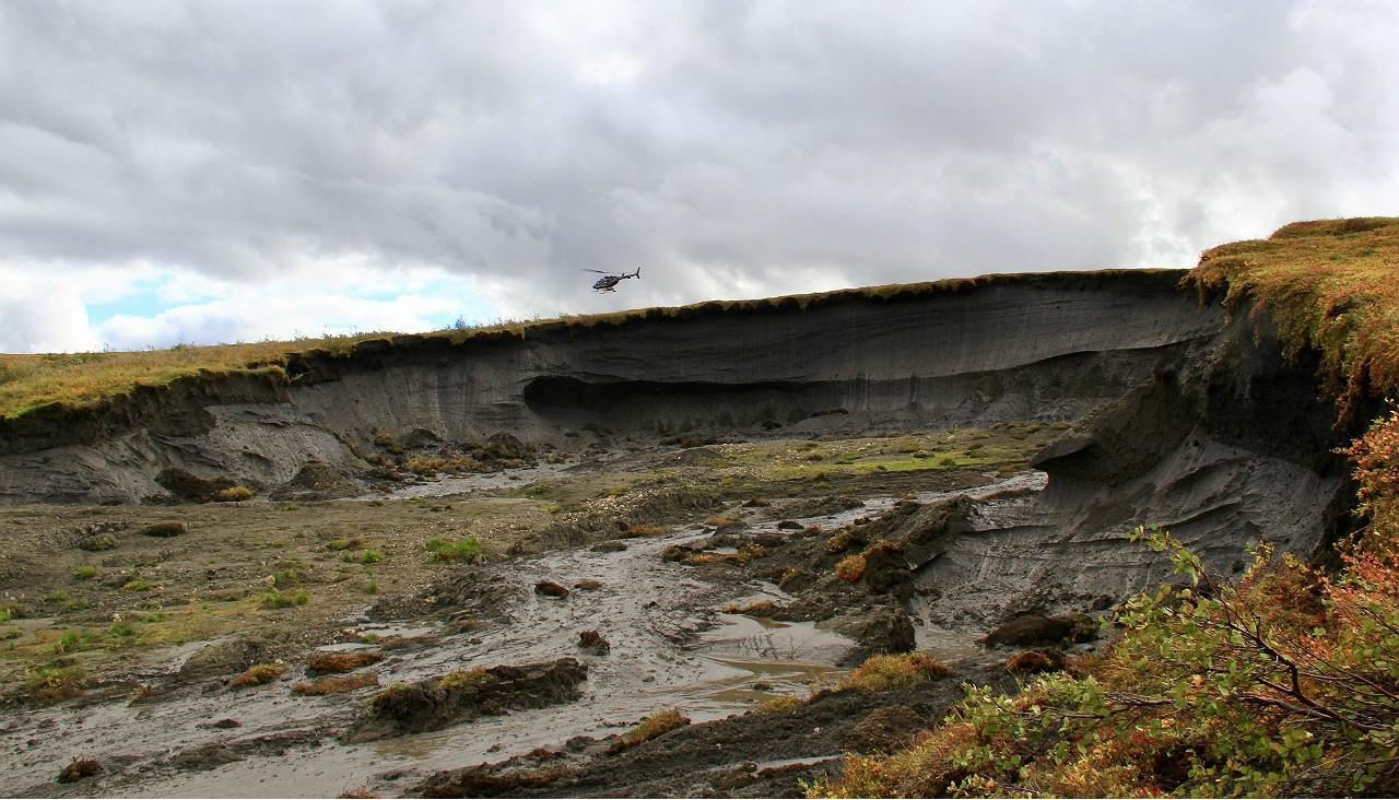 Meseta Peel, en el noroeste de Canadá (imagen), donde se realizó esta investigación.(Foto: Scott Zolkos, Universidad de Alberta)