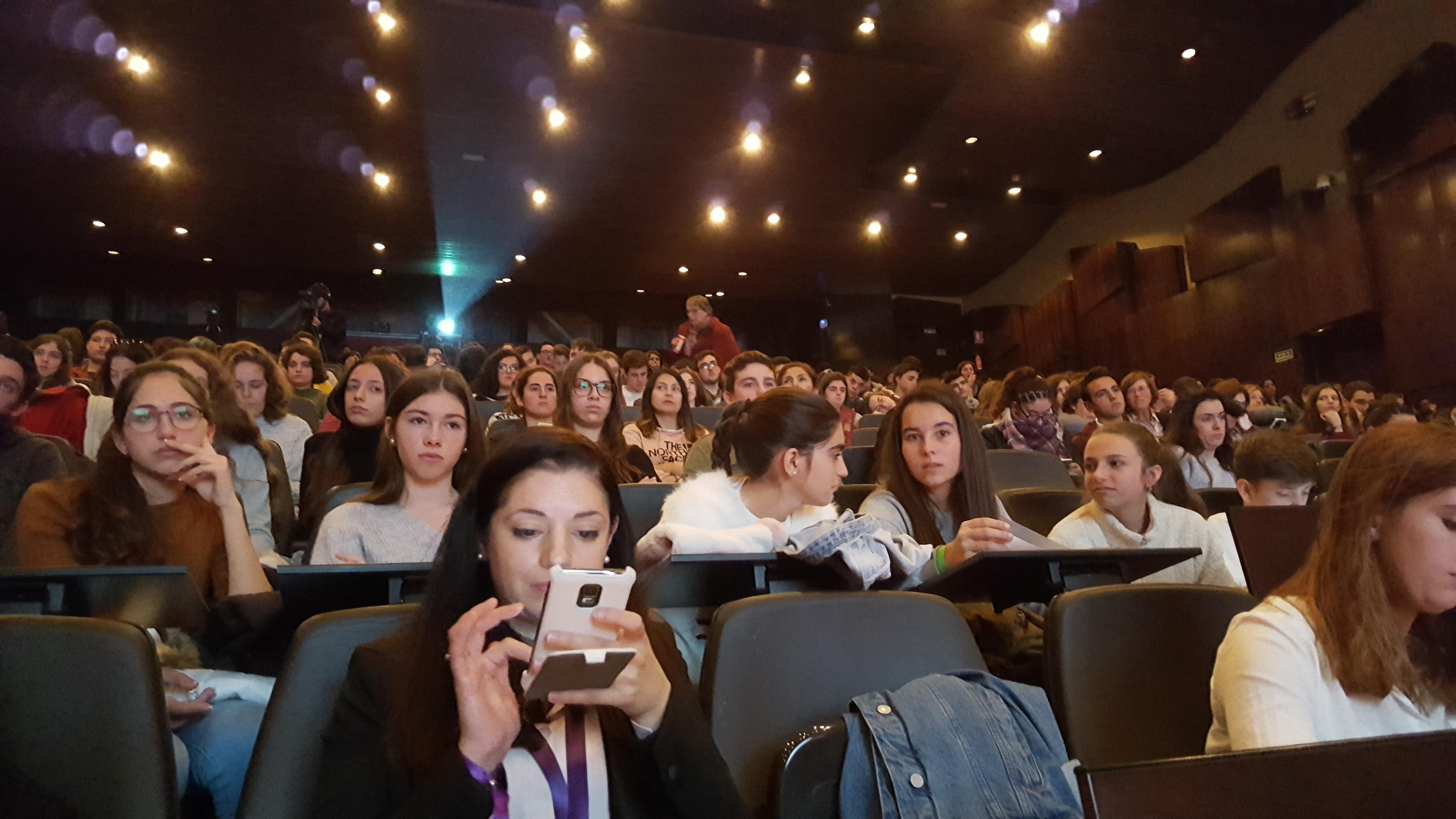 Momento del evento. Foto: TW.