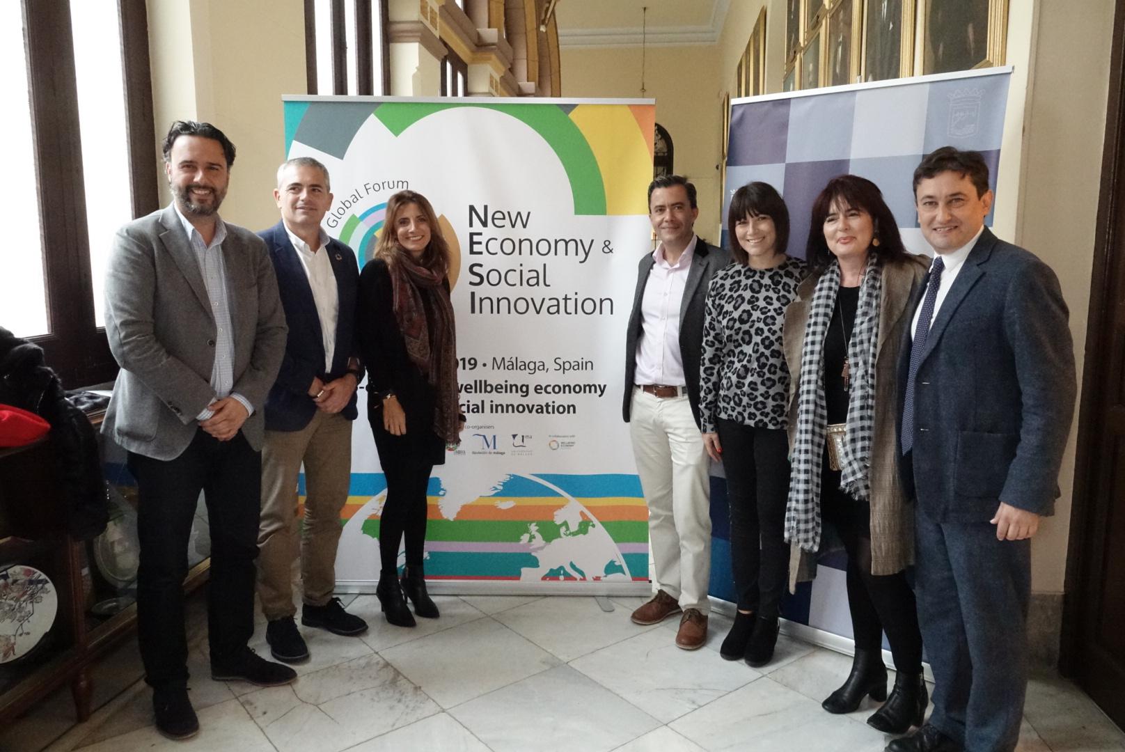 Momento del anuncio oficial de la convocatoria de la segunda edición en Málaga del NESI nGlobal Forum. Foto: Nesi Forum.