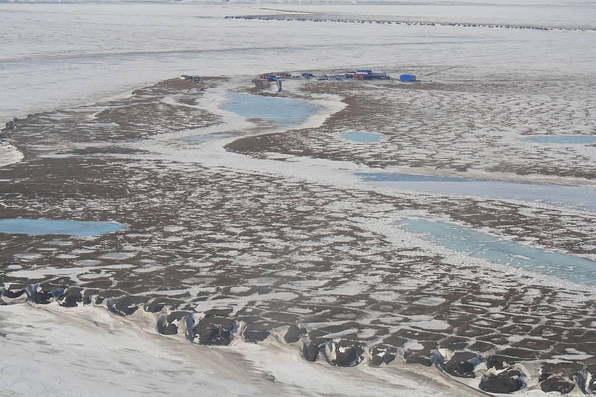 Vista aérea de la tundra rusa. Foto: Torsten Sachs.