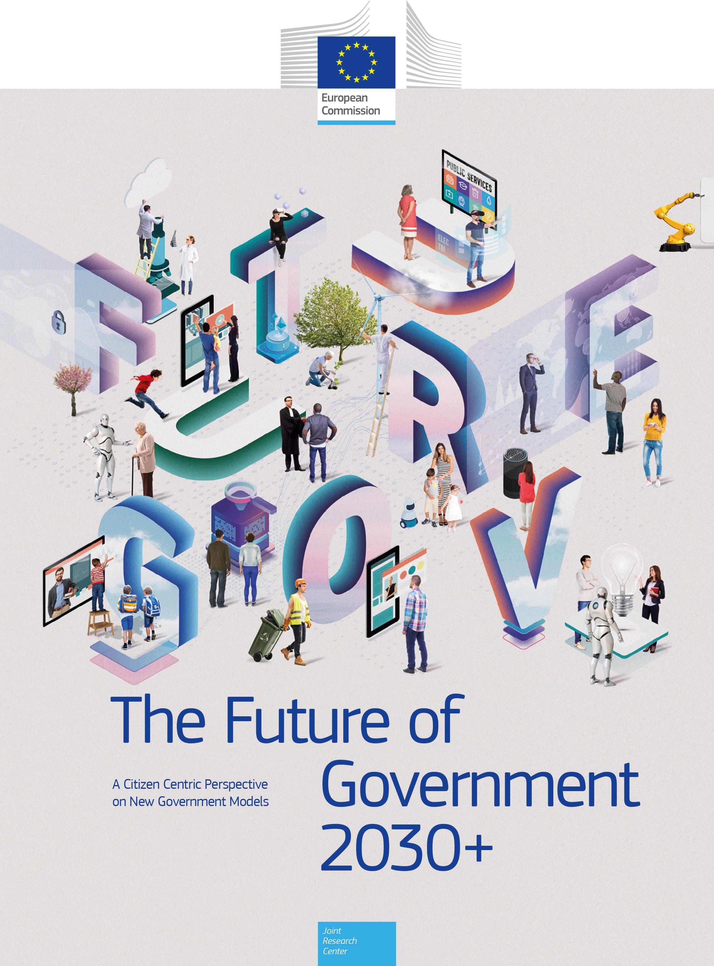 Portada del informe europeo. Fuente: Comisión Europea.