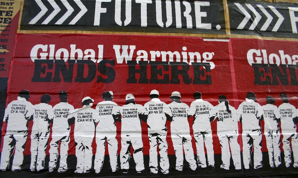Un ejemplo de las reacciones ante el calentamiento global. Imagen: Brian Gratwicke.