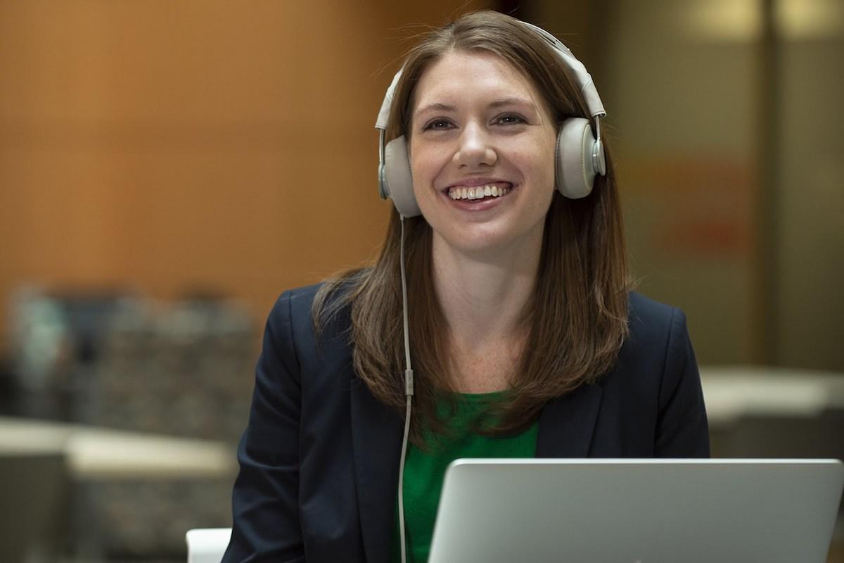 La investigadora Kathleen Keeler. Foto: Kevin Morley.VCU.