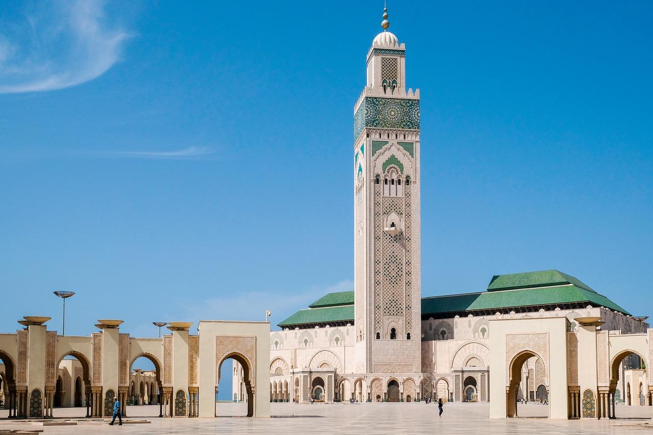 Mesquita de Casablanca, Marruecos. Foto:Hans-Juergen Weinhardt,