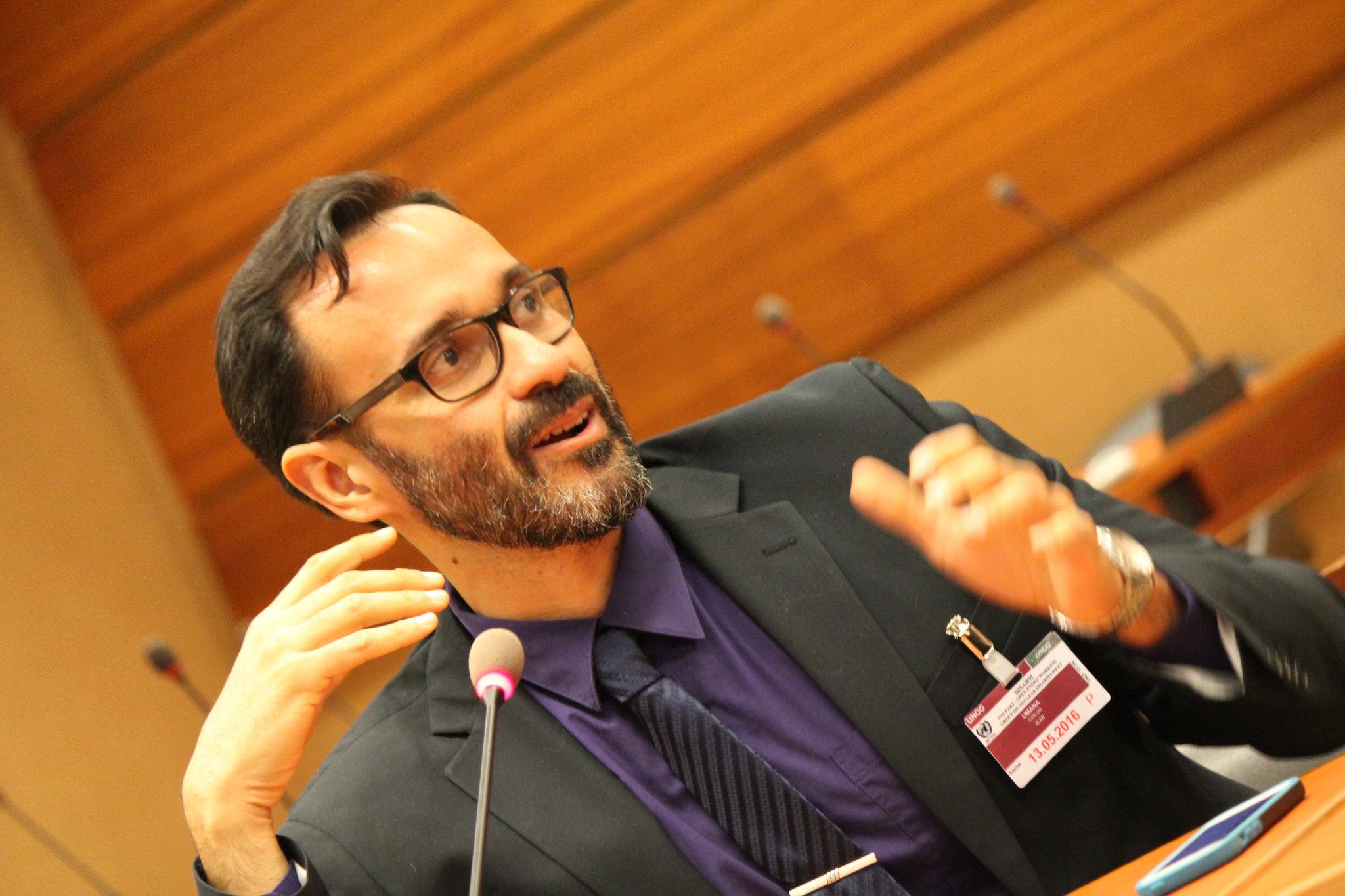 Carlos Umaña. Foto: autor.