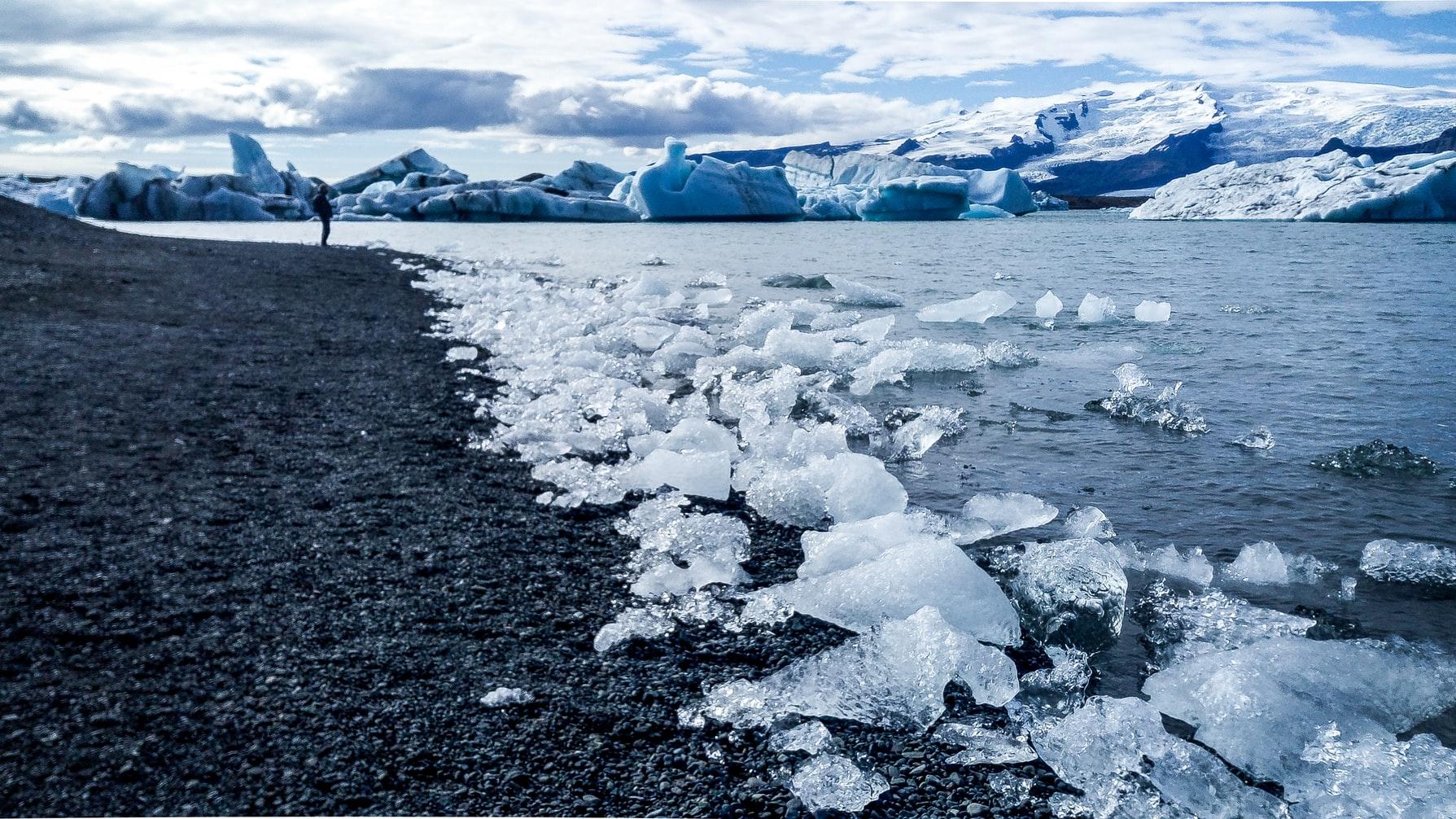 Jökulsárlón, Iceland. Foto: Sean Wang.