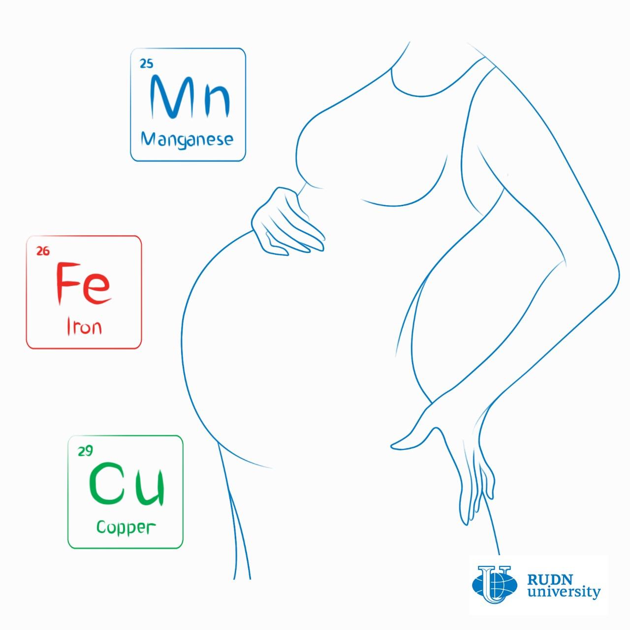 Los minerales en sangre determinan la salud del embarazo