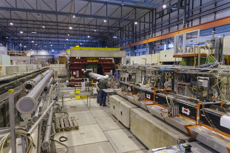 El experimento NA64 en el CERN. Foto: CERN.