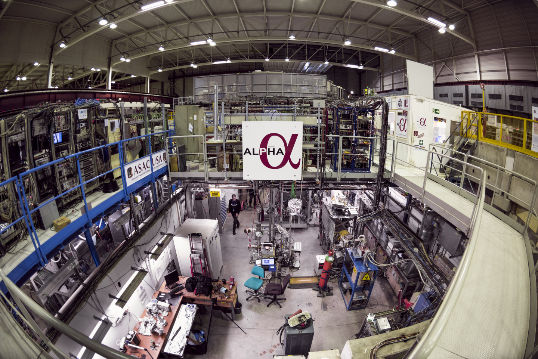 Colaboración ALPHA. Foto: CERN.
