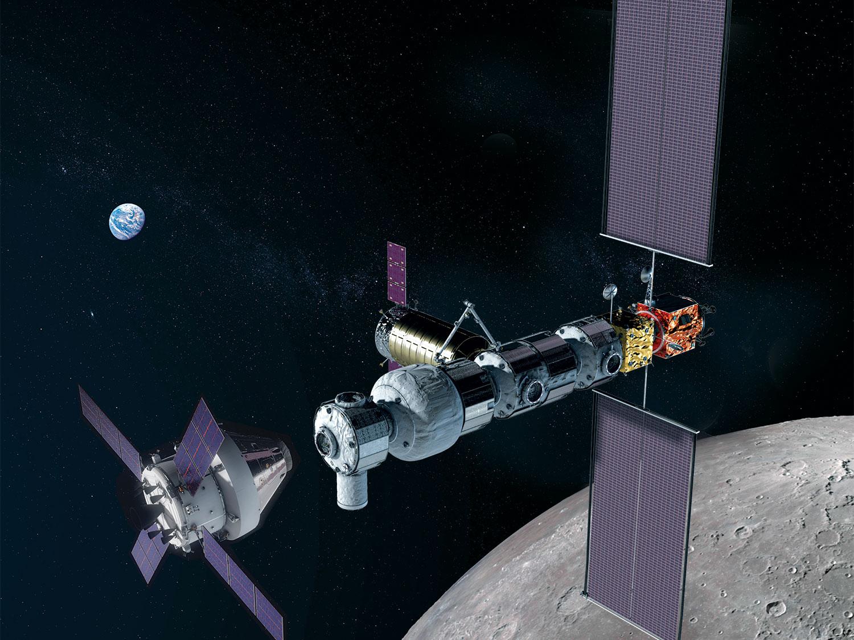 La Luna, posible avanzadilla para desviar asteroides peligrosos