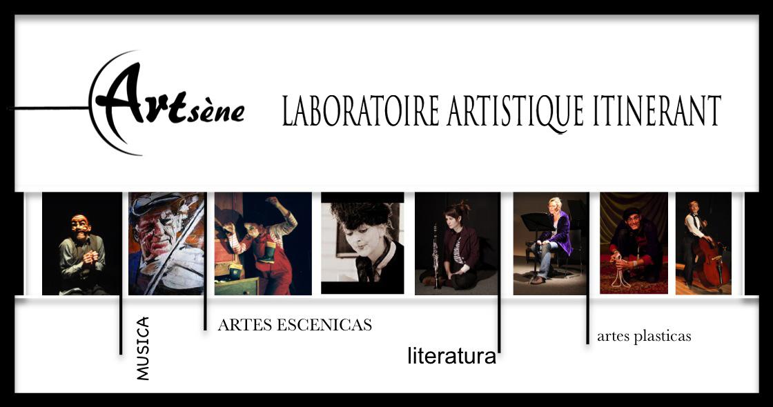 Cartel de Le poète en action. Imagen cortesía del Teatro Alhambra de Granada.