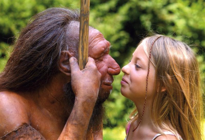 El ser humano actual ha heredado una gran cantidad de genes de neandertal, algo que desconocíamos hace apenas cinco años. Imagen: Neanderthal Museum. Fuente: SINC.