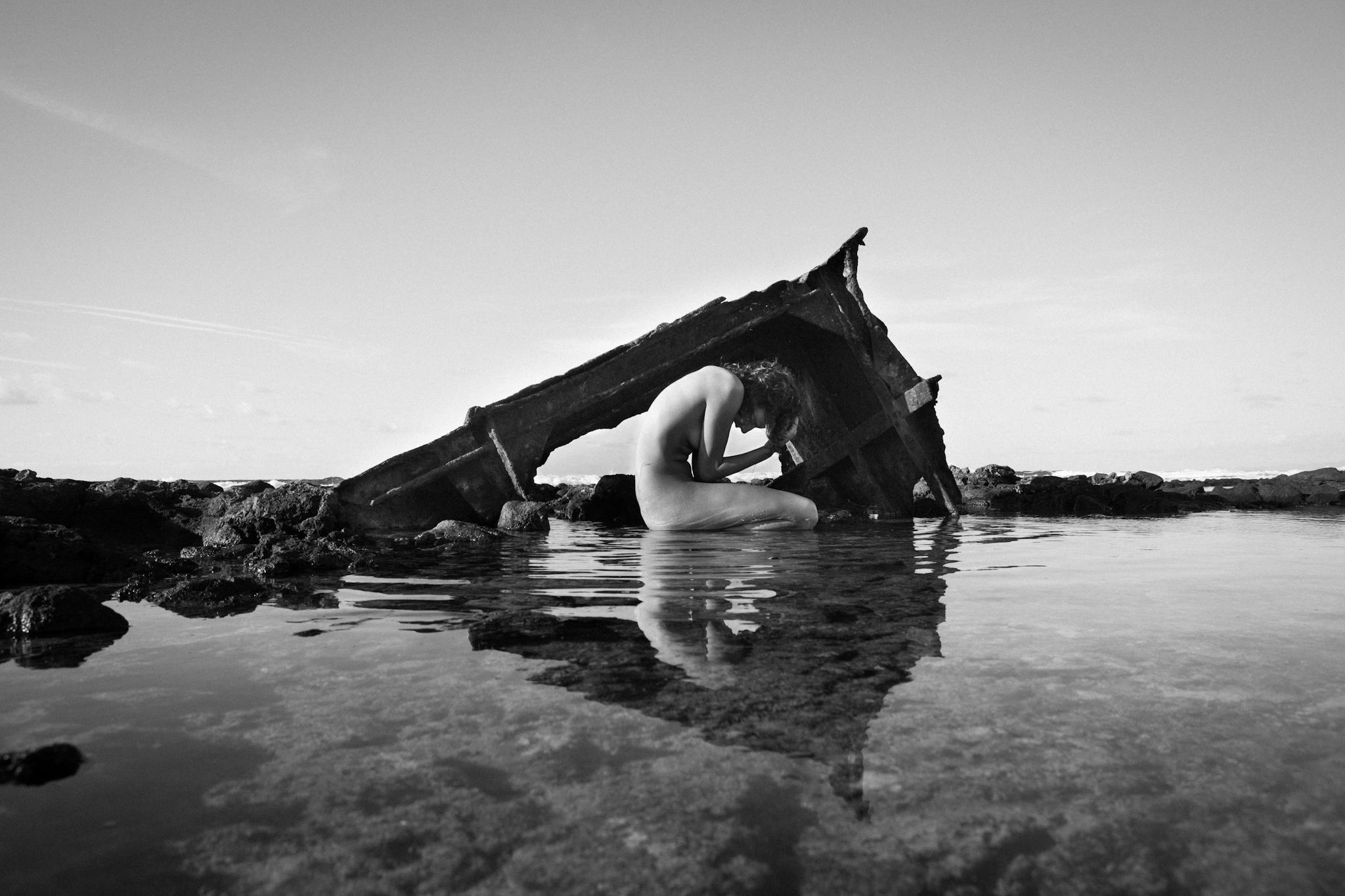 """Fotografía de ziREjA que refleja el efecto de los residuos en las costas canarias, premiada en la última edición de la """"Waste smART Competition"""" de la Agencia Europea del Medio Ambiente."""