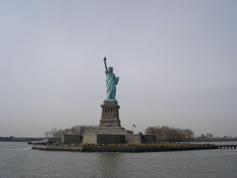 Estatua de la Libertad. Imagen: G36. Fuente: Wikipedia.