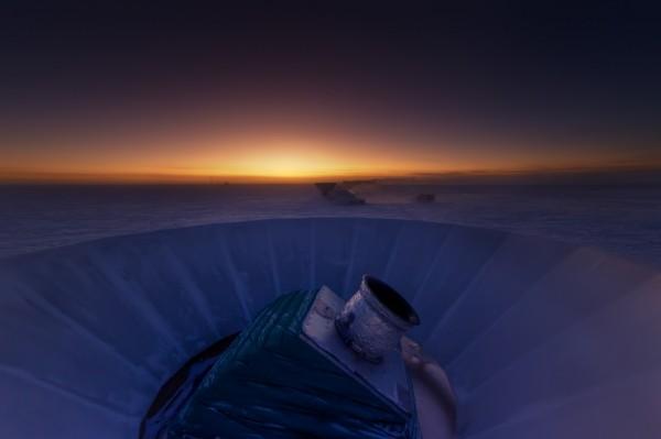 El telescopio BICEP2. Fuente: BICEP2.