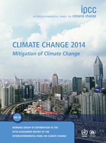 Portada del III informe del AR5 del IPCC. Fuente: IPCC.