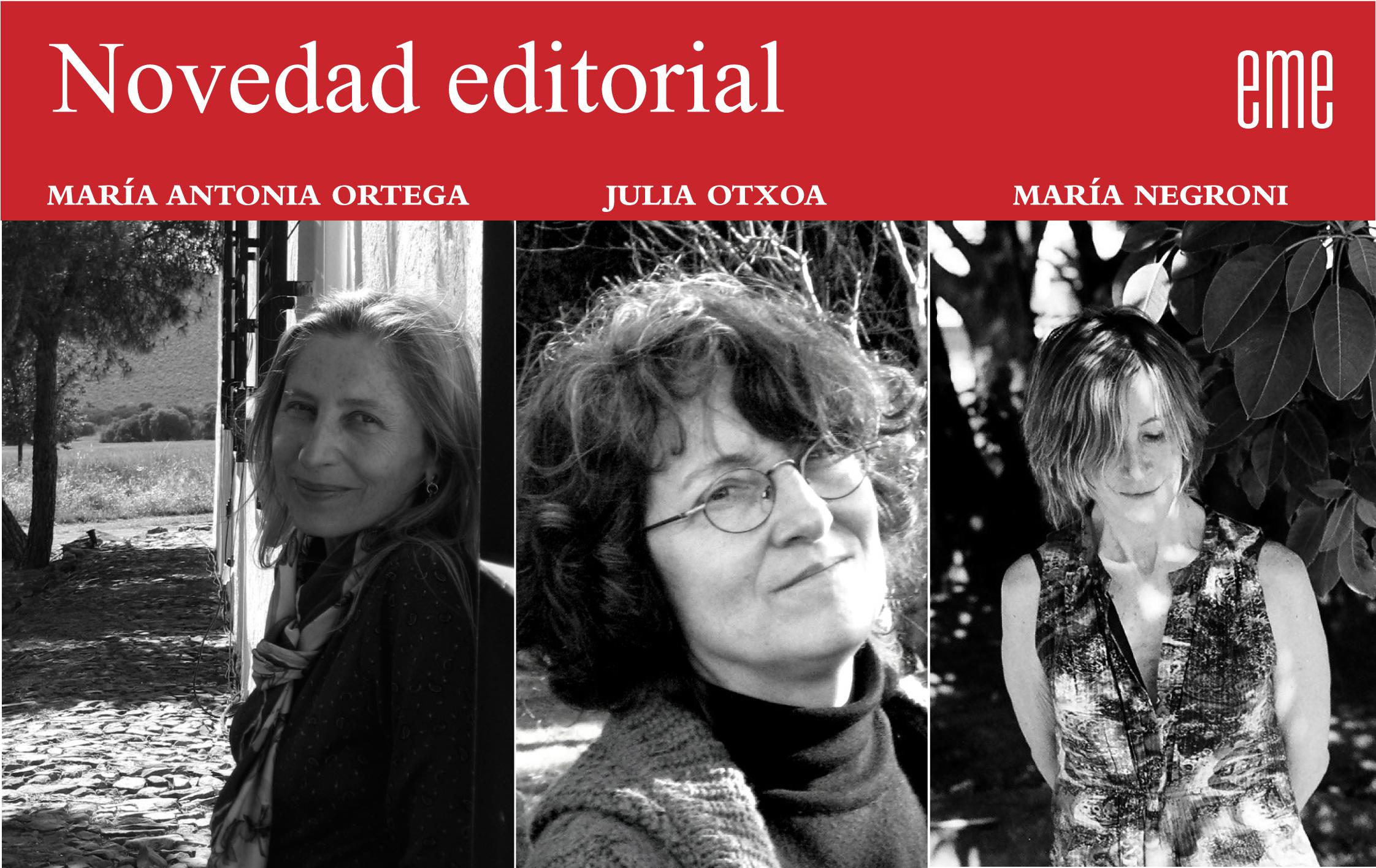 Nueva colección de poesía y ensayo de mujeres, creada por Ediciones La Palma