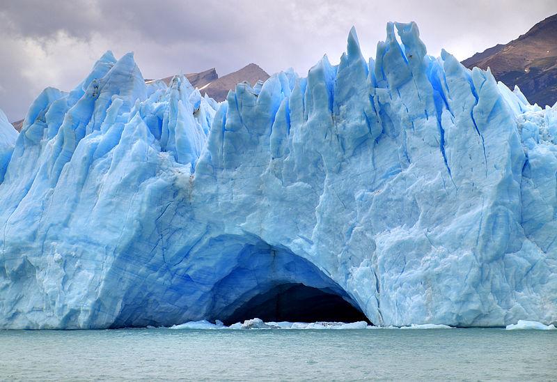 Un glaciar. Imagen: Martin St-Amant. Fuente: Wikipedia.