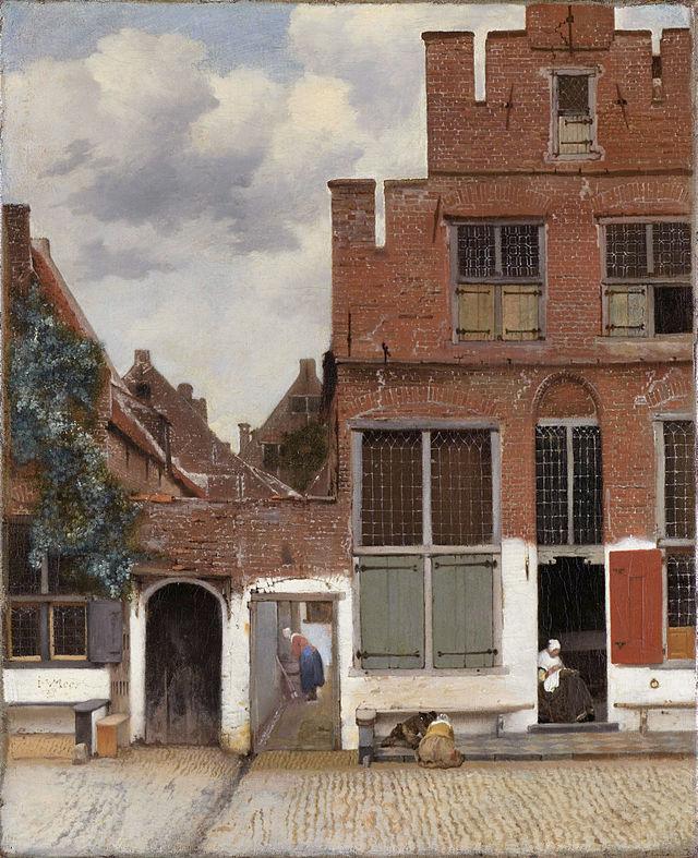 La Callejuela, de Vermeer. Fuente: Wikipedia.