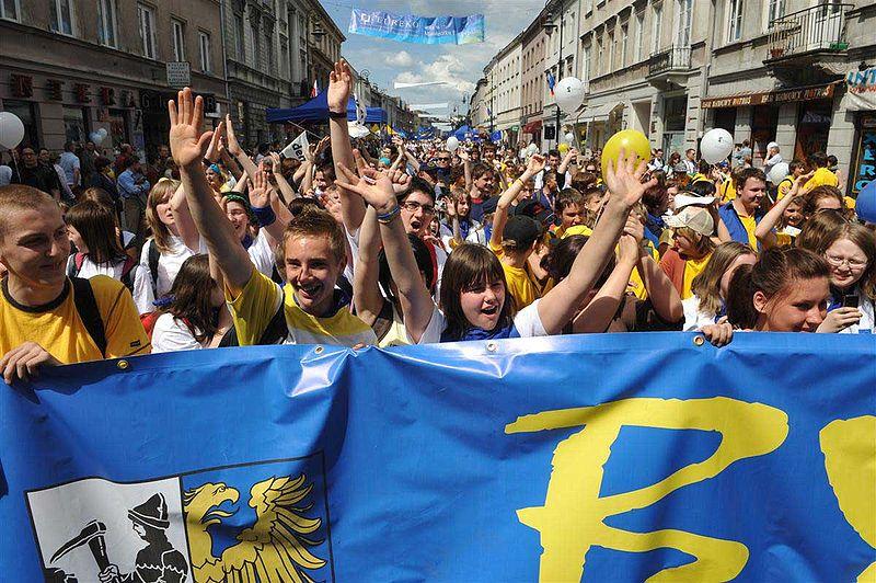 Celebración del Día de Europa en Varsovia. Imagen: Cezary p. Fuente: Wikipedia.