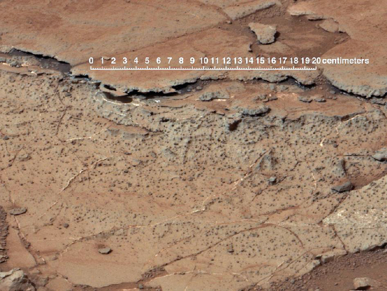 Imagen del cráter Gale que revela características del suelo similares a las de los paleosuelos terrestres. Fuente: NASA.