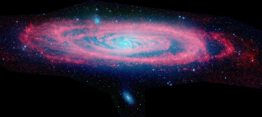 Infrared Andromeda. Pauline Barmby (Harvard-Smithsonian CfA) et al., JPL, Caltech, NASA