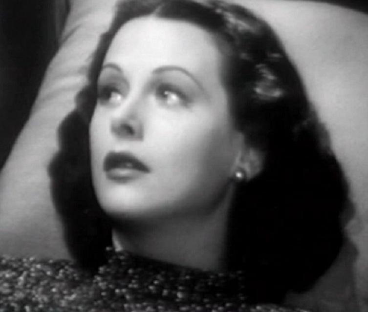 """Hedy Lamarr en """"Pasión que redime"""", 1947, dirigida por Robert Stevenson. Fuente: Wikipedia."""