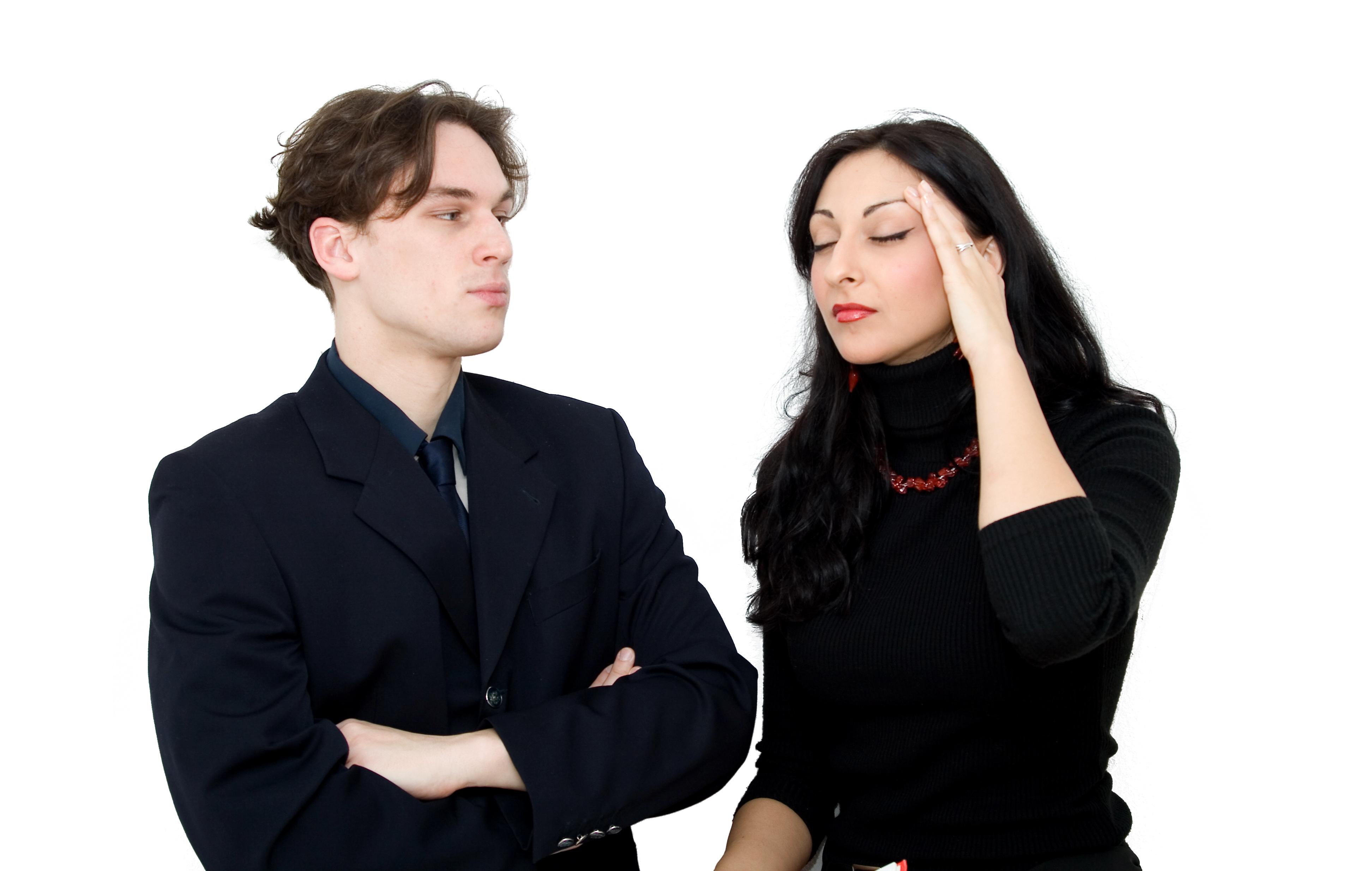Las mujeres sufren más problemas de depresión derivados de ser jefes que los hombres. Imagen: dinostock. Fuente: PhotoXpress.