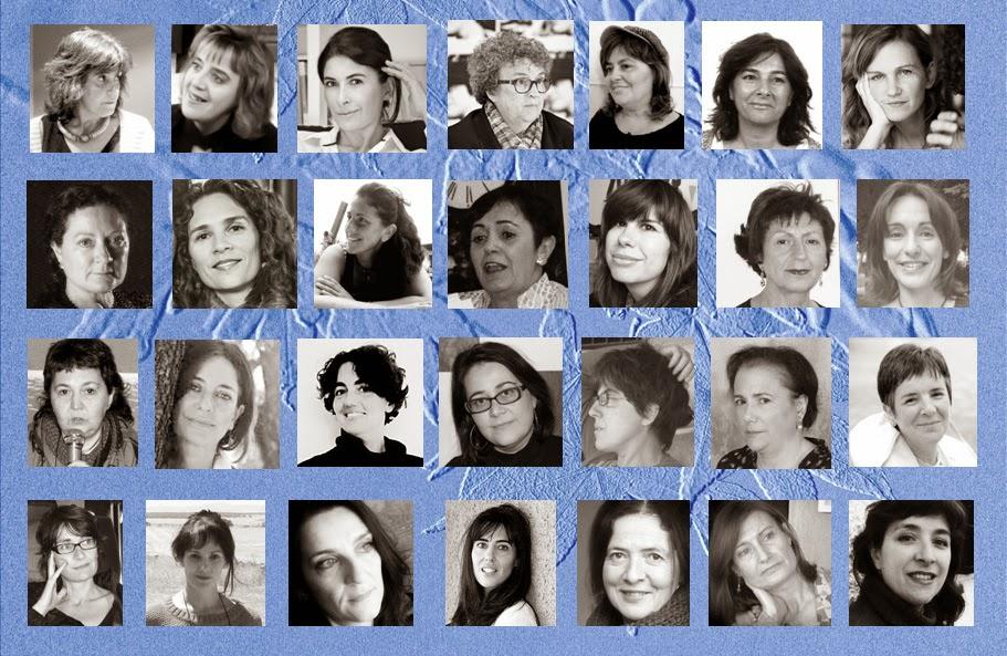 """Autoras españolas de """"28.28. La Europa de las escritoras"""". Fuente: http://2828invisibles.blogspot.com.es."""