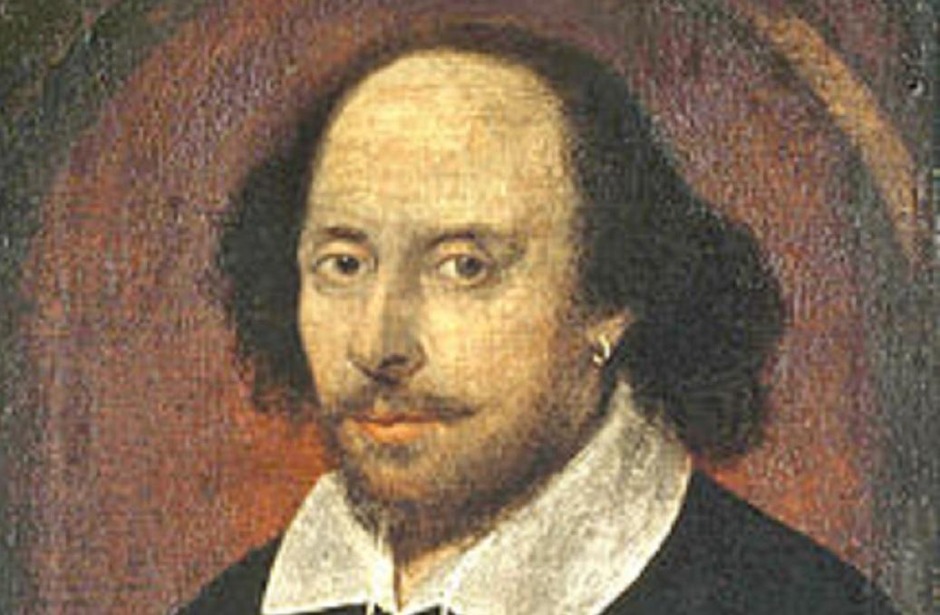 Retrato de William Shakespeare. Fuente: Wikipedia.
