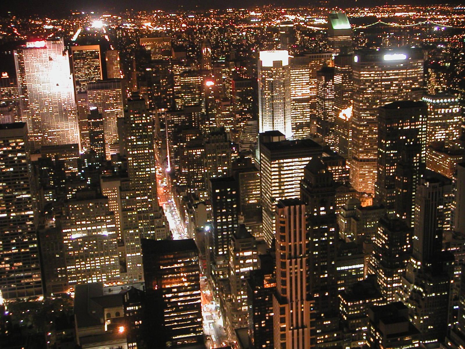Nueva York, desde el Empire State Building, en 2004. Imagen: bizior. Fuente: Free Images.