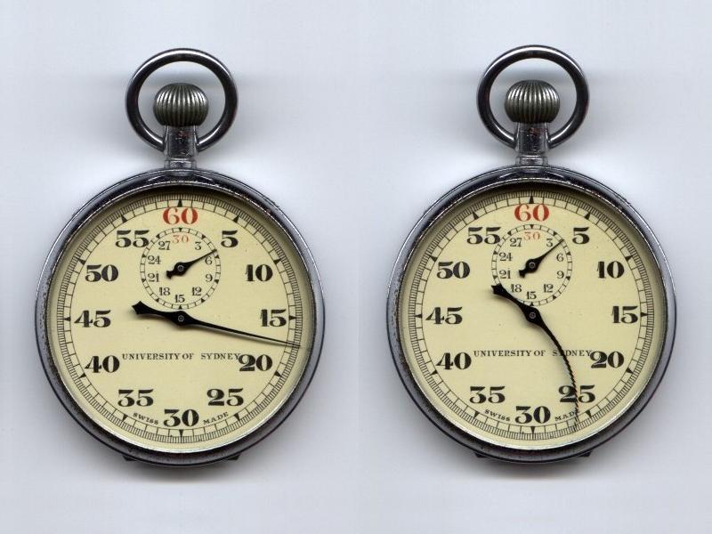 Creatividad sobre la dilatación del tiempo. Silly pictures.