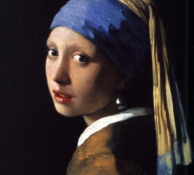 El grafeno multiplica las frecuencias de terahercios, que escudriñan las obras. Imagen: La joven de la perla por Johannes Vermeer (c. 1665). Disponible bajo la licencia Dominio público vía Wikimedia Commons.