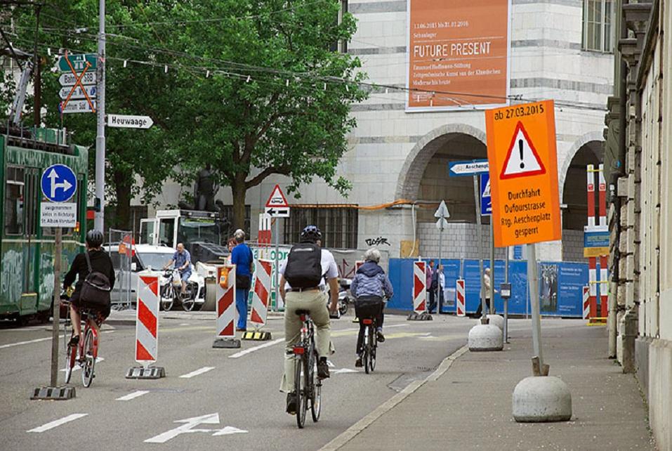 Filtrando información visual en un contexto de tráfico. Fuente: Universidad de Basilea.
