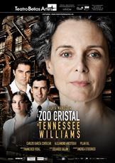 """Cartel de la obra """"El zoo de cristal"""". Fuente: Teatro Bellas Artes de Madrid."""