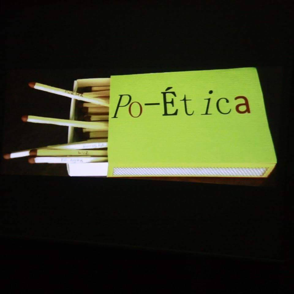 Po-ética. Poema objeto de Rosana Acquaroni.