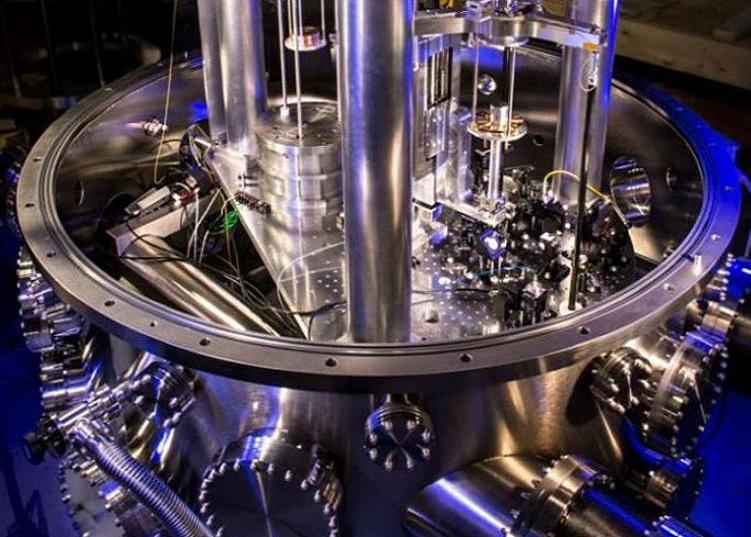 Balanza de Watt, del NIST, que está ayudando a redefinir el kilogramo. Fuente: NIST.