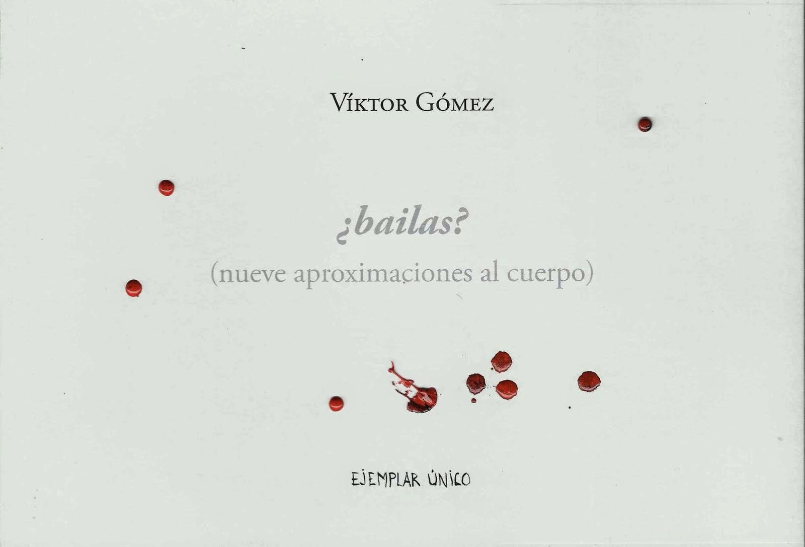 Víktor Gómez y el desplazamiento imprescindible de la palabra
