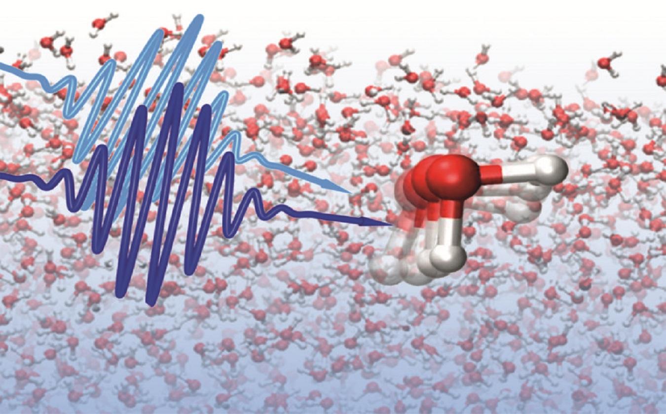 Para observar las estructuras se utilizaron pulsos láser ultrarrápidos. Imagen: Yuki Nagata. Fuente: MPI-P.