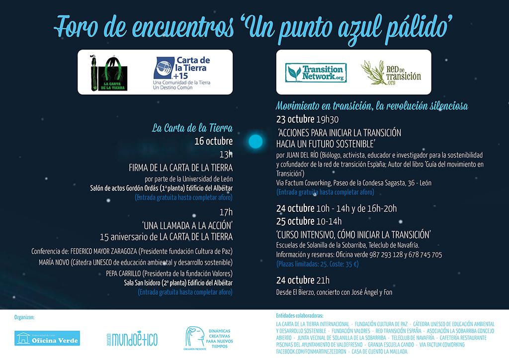La Universidad de León se adhiere a la Carta de la Tierra