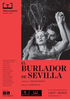 Cartel de la obra. Fuente: Teatro Español.